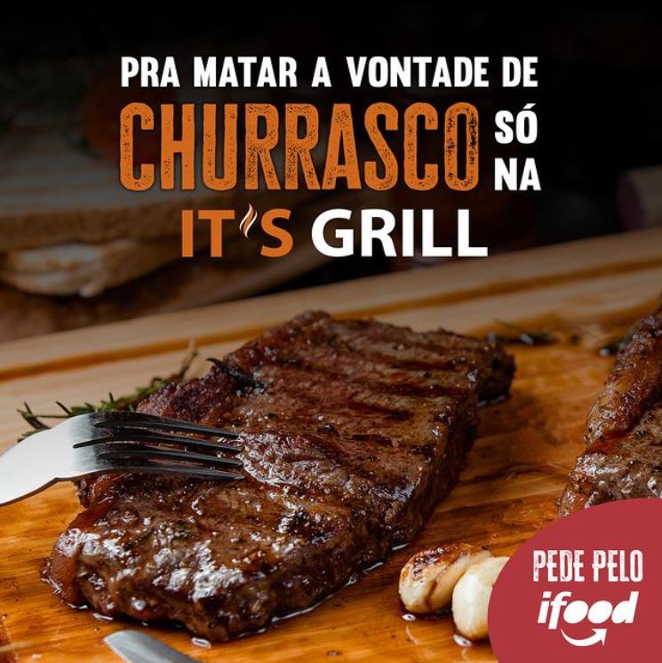 Peça It's Grill pelo iFood